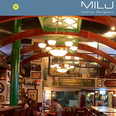 פרוייקט בניית אתרים Milu Design